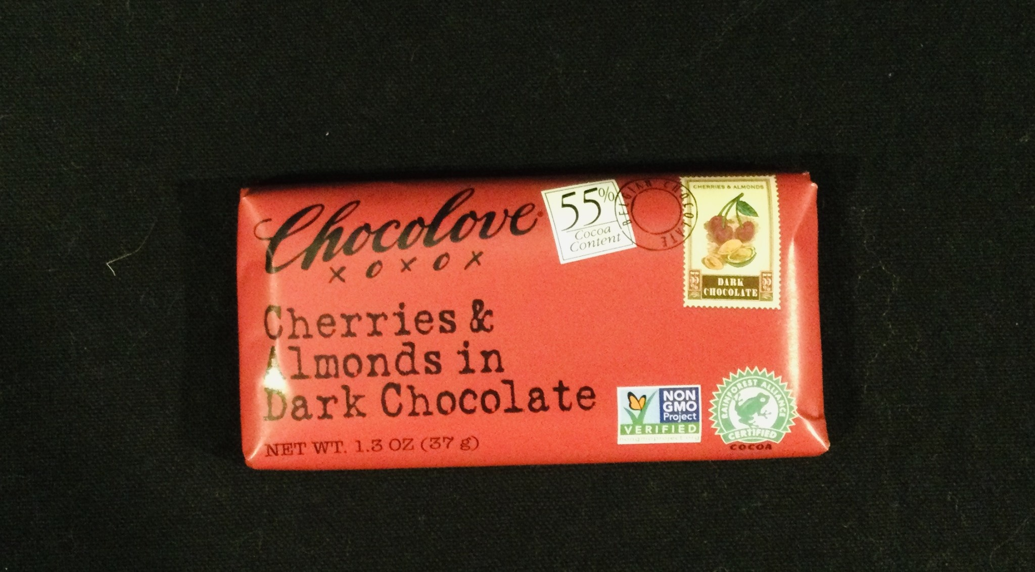 Chocolove Cherry Almond Dark Mini Bars