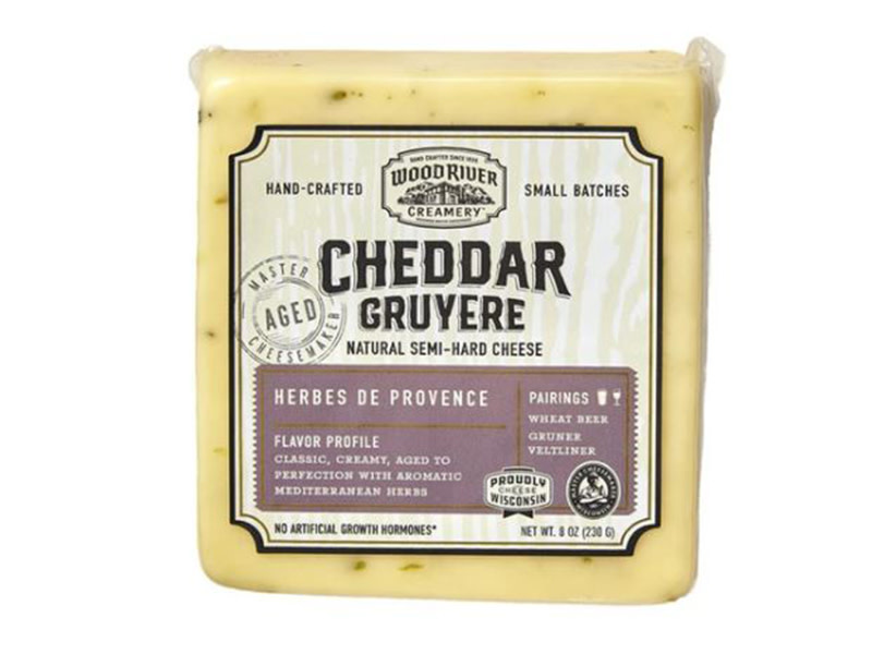 Cheese- Wood River HERBS PROVENCE CHEDDAR GRUYERE