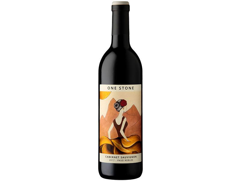 Ancient Peaks Winery One Stone Cellars Cabernet Sauvignon Paso Robles California 2019