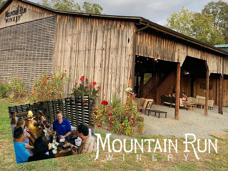 Drinking Local with Mountain Run Winery