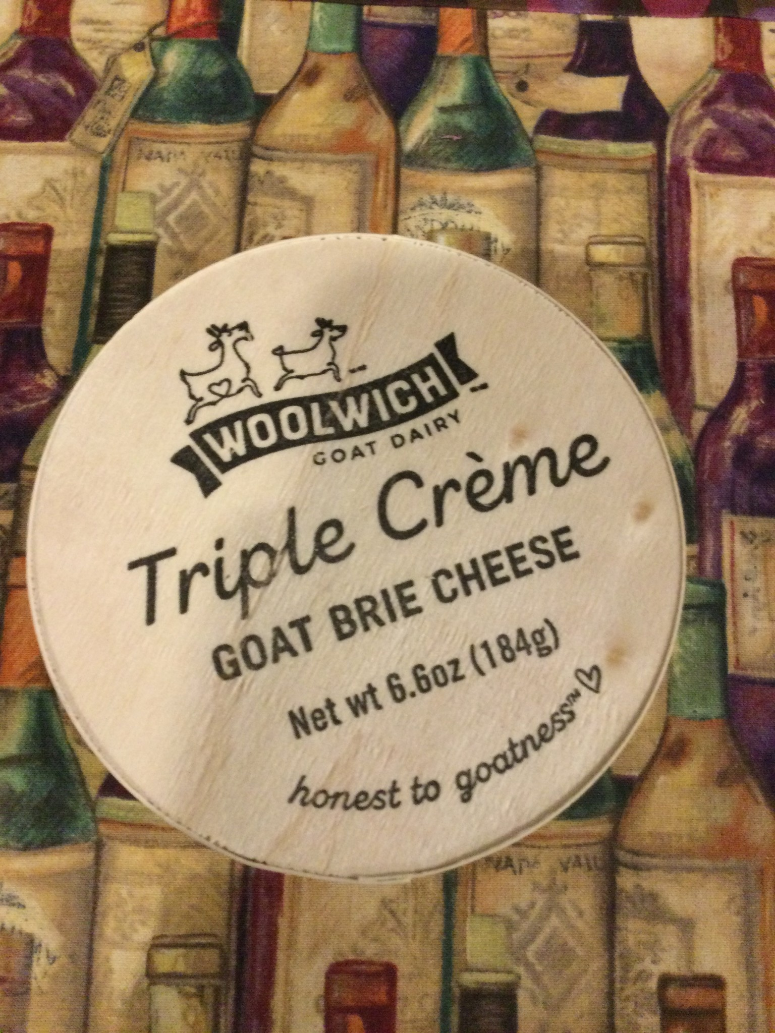 BRIE GOAT WOOLWICH