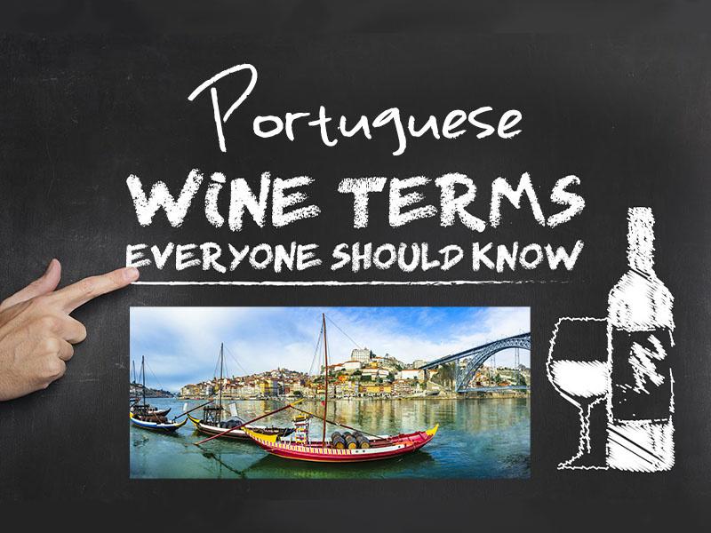 Portuguese Wine Words