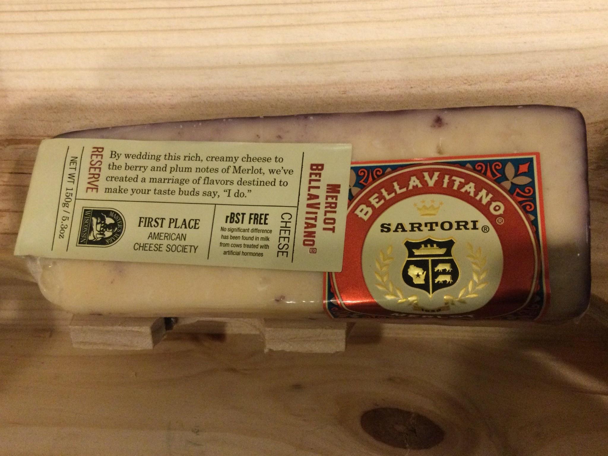 Cheese Sartori Merlot Bellavitano