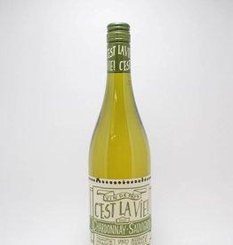 C'est la Vie Vin Chardonnay Sauvignon Blanc Pays d'Oc France 2017