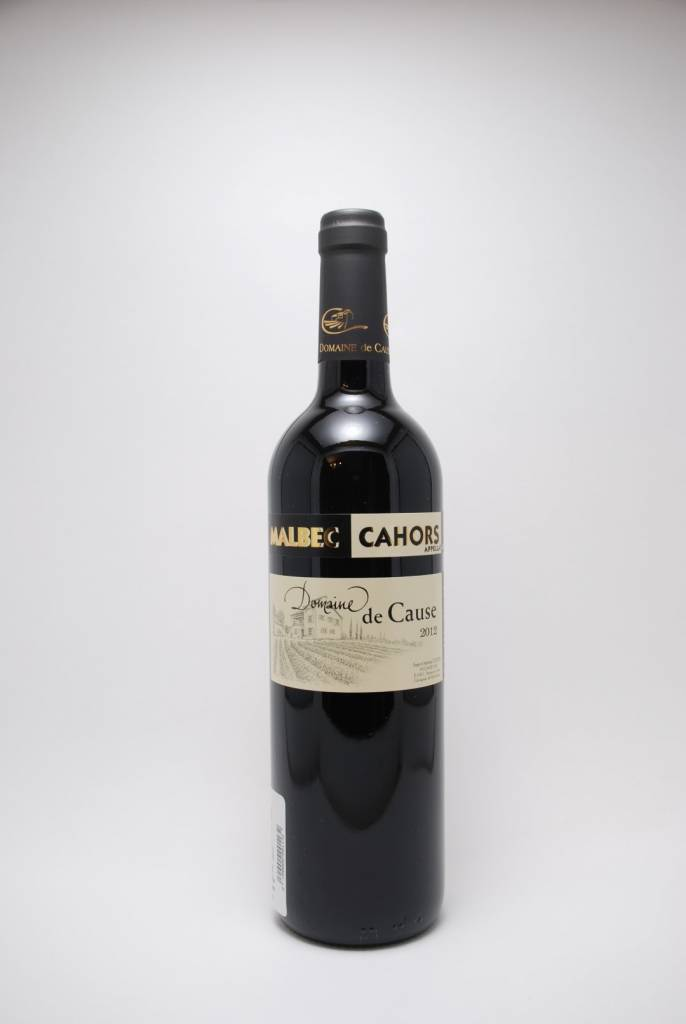 Domaine de Cause Cahors Malbec 2015