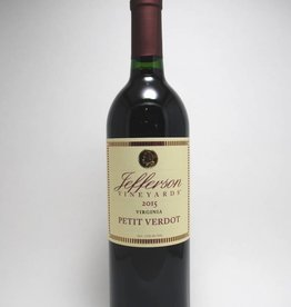 Jefferson Vineyards Petit Verdot 2018