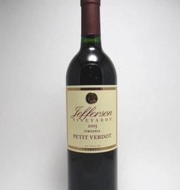 Jefferson Vineyards Petit Verdot Virginia 2018