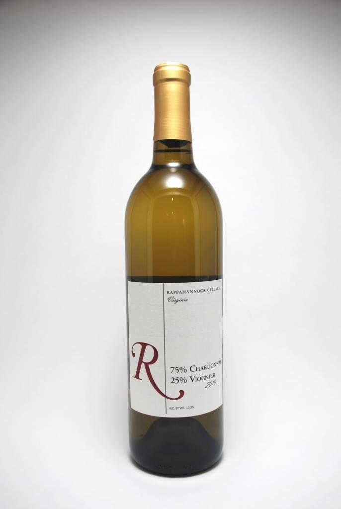 Rappahannock Cellars Chardonnay/Viognier White Virginia 2017