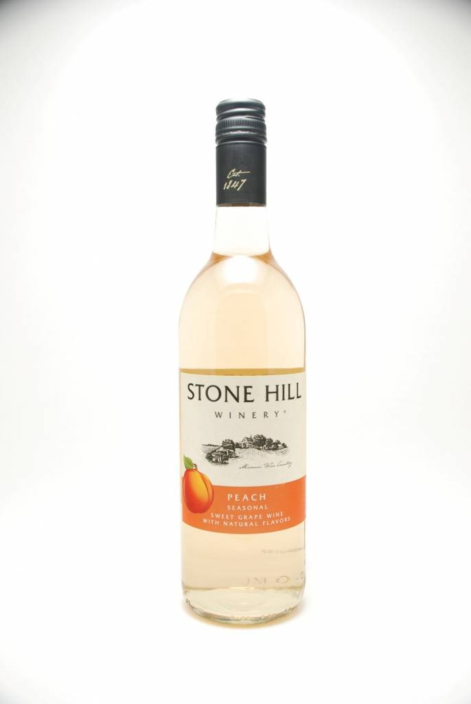 Stone Hill Peach Wine Missouri NV