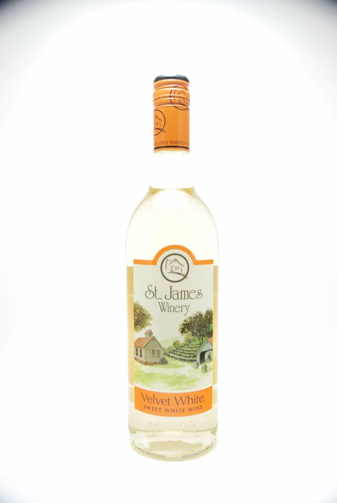 St James Winery Velvet White NV
