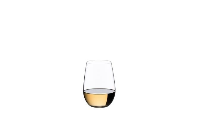 """""""O"""" by RIEDEL -  Riesling/Sauvignon Blanc Stemless Glasses 2pk"""