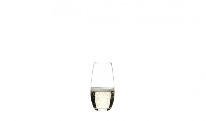 """O"" by RIEDEL -  Champagne Stemless Glasses 2pk"
