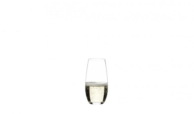 O Champagne glass 2pk