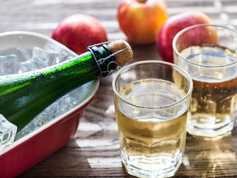 Cider vs. Wine