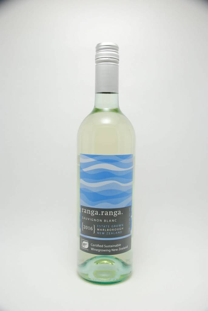 Barker's Marque Wines Ranga Ranga Sauvignon Blanc 2017