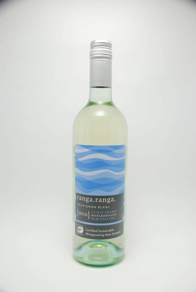 Barker's Marque Wines Ranga Ranga Sauvignon Blanc Marlborough New Zealand 2019