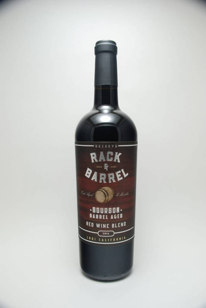 Rack & Barrel Bourbon Barrel Red Blend Lodi California 2018