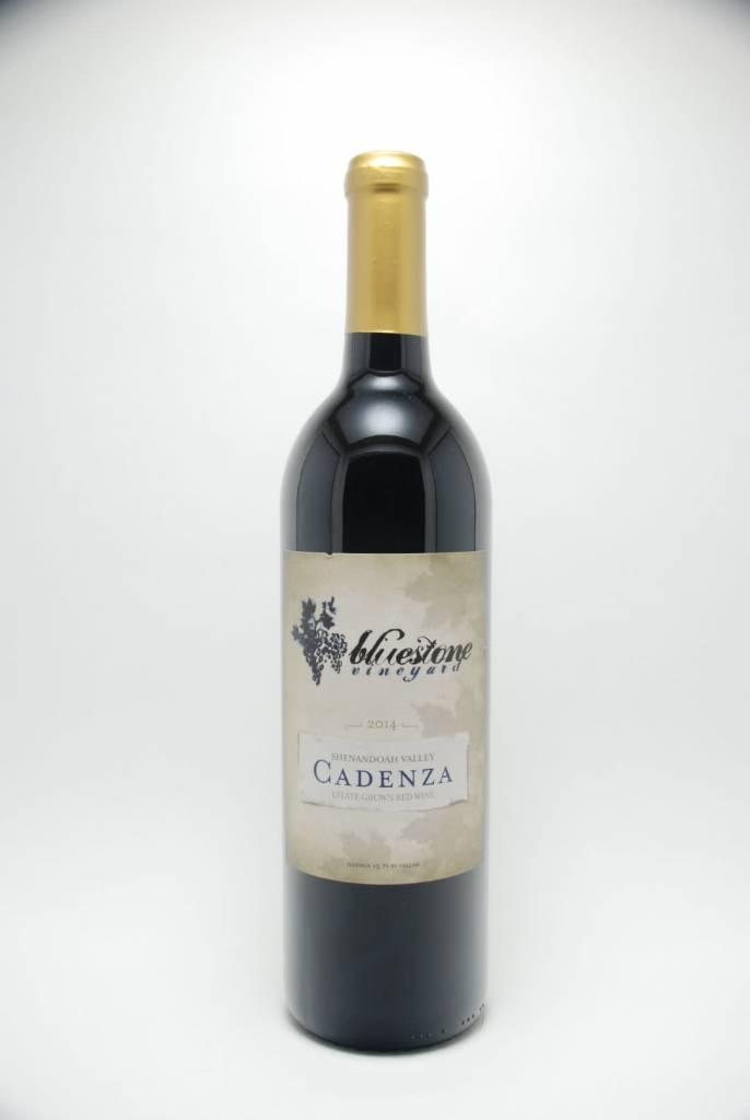 Bluestone Vineyard Cadenza Virginia 2014