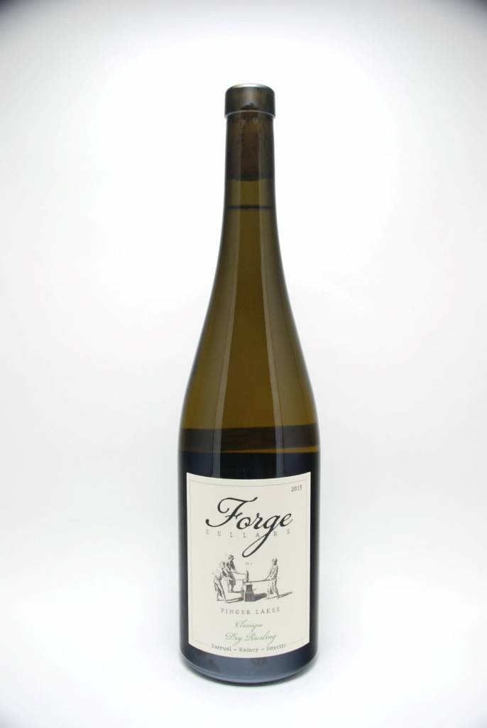 Forge Cellars Dry Riesling Finger Lakes New York 2018