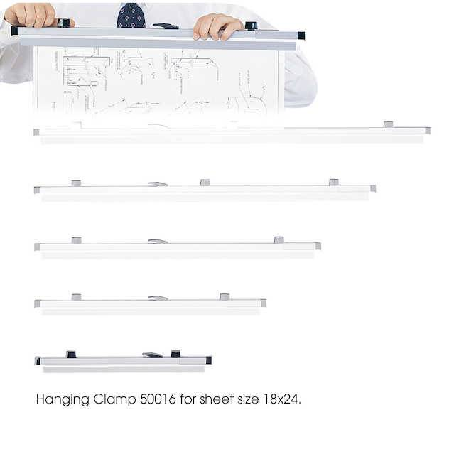 SAFCO BINDER CLAMP 24 INCH (Planhold - Safco)