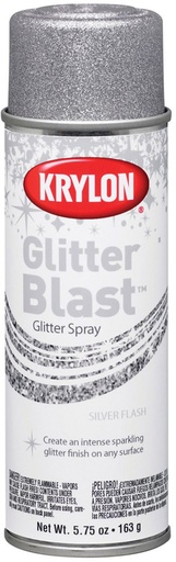 GLITTER BLAST SILVER FLASH