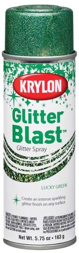 GLITTER BLAST LUCKY GREEN