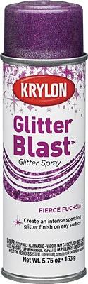 GLITTER BLAST FIERCE FUCHSIA