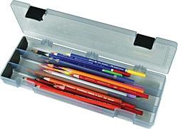 FLAMBEAU (ARTBIN) ARTBIN PENCIL UTILITY BOX CHARCOAL    6900AB