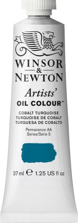 WINSOR NEWTON WINSOR & NEWTON ARTISTS' OIL COLOUR COBALT TURQUOISE 37ML