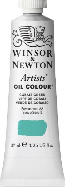 WINSOR NEWTON WINSOR & NEWTON ARTIST'S OIL COLOUR  COBALT GREEN 37ML