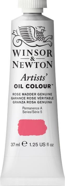 WINSOR NEWTON WINSOR & NEWTON ARTIST'S OIL COLOUR  ROSE MADDER GENUINE 37ML