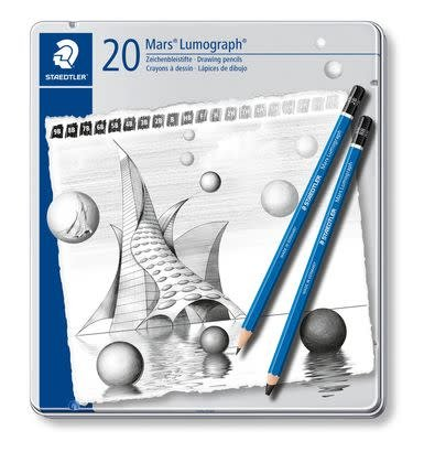 STAEDTLER STAEDTLER LUMOGRAPH SET/20