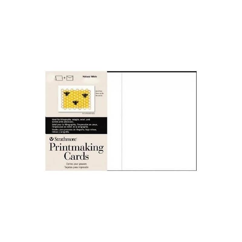 STRATHMORE STRATHMORE PRINTMAKING CARDS PK/100  105-633