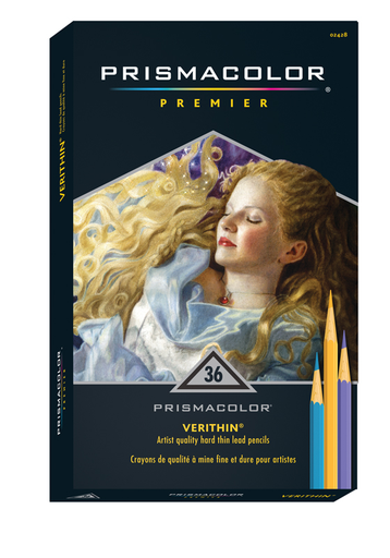 SANFORD PRISMACOLOR VERITHIN PENCIL SET/36