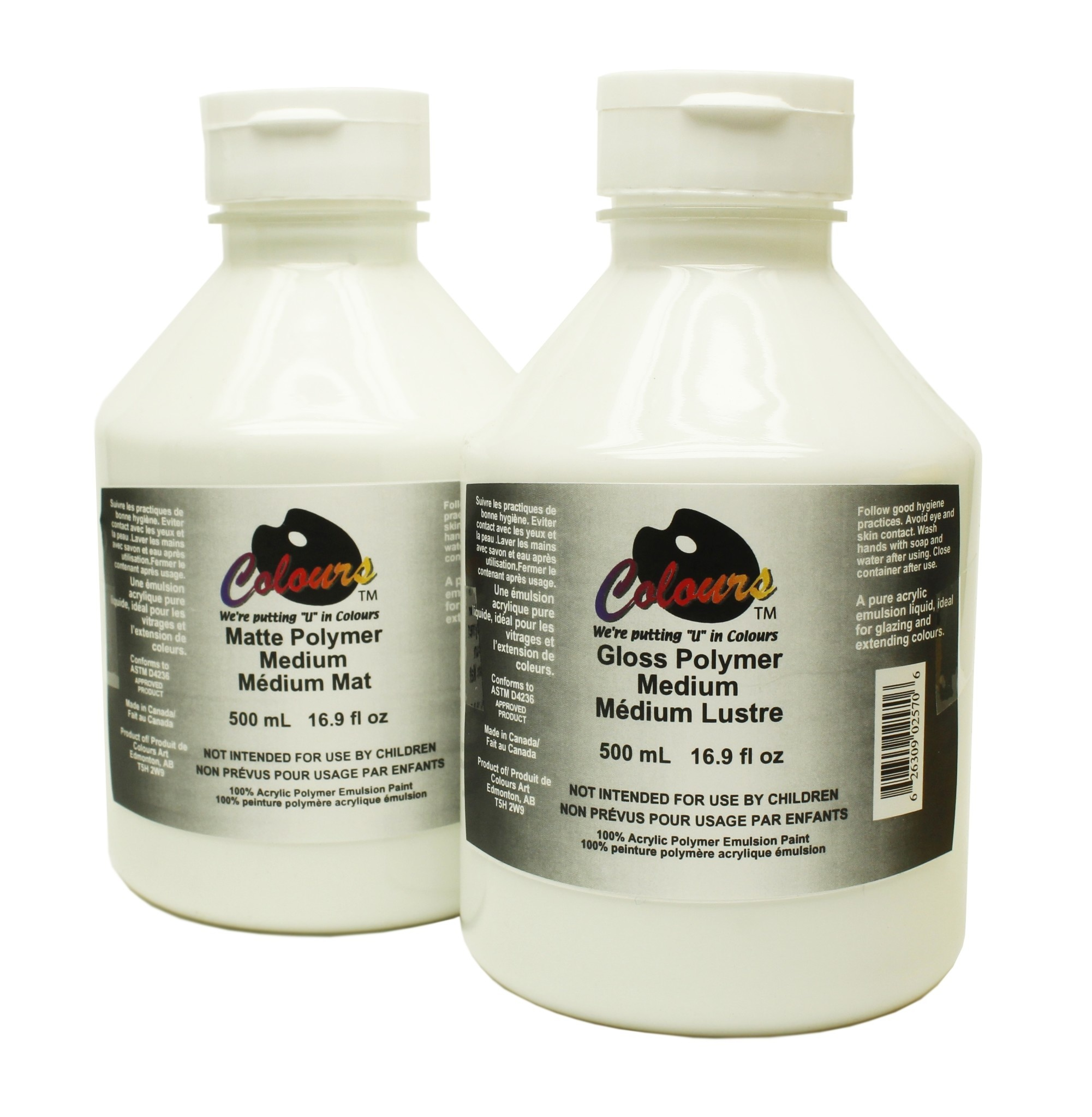 COLOURS MATTE POLYMER MEDIUM 500ML