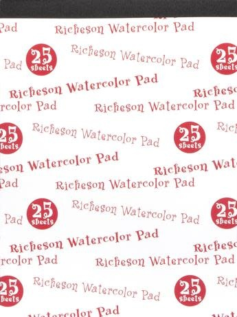 JACK RICHESON RICHESON 90LB WATERCOLOUR PAD 9X12 25SHT