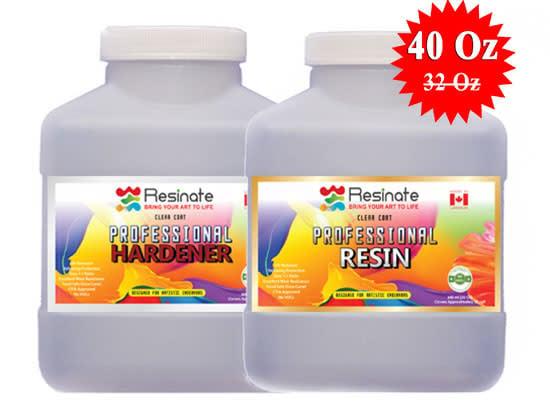 RESINATE PROFESSIONAL RESIN 40 OZ - net price