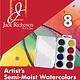 JACK RICHESON RICHESON ARTIST'S SEMI MOIST WATERCOLOUR SET/8