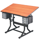 ALVIN CRAFTMASTER TABLE 24X40 CHERRYWOOD TOP