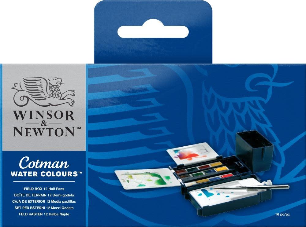 WINSOR NEWTON COTMAN FIELD BOX