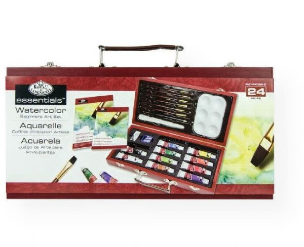 ESSENTIALS WATERCOLOUR SET 24pcs