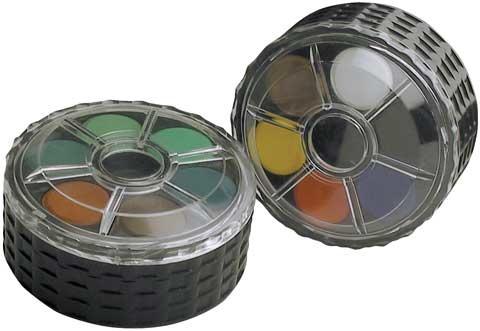 KOHINOOR WATERCOLOUR WHEEL STACK PACK 24 colours