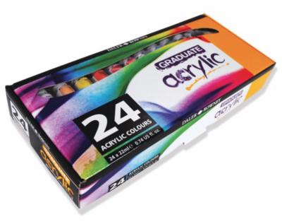 GRADUATE ACRYLIC SET 24X22ml