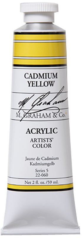 M GRAHAM M GRAHAM ACRYLIC CADMIUM YELLOW 5OZ