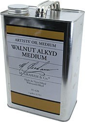 M GRAHAM M GRAHAM WALNUT ALKYD OIL MEDIUM 128OZ
