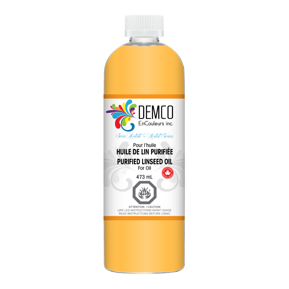 DEMCO DEMCO PURIFIED LINSEED OIL 120ML / 4OZ
