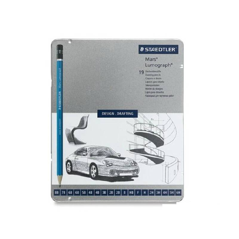 STAEDTLER STAEDTLER MARS LUMOGRAPH PENCIL SET/19    100G19   disc
