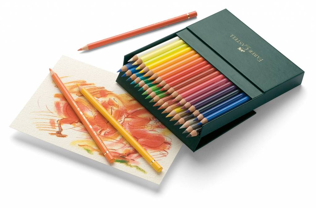 FABER CASTELL POLYCHROMOS PENCIL SET/36 STUDIO BOX    FAC-110038