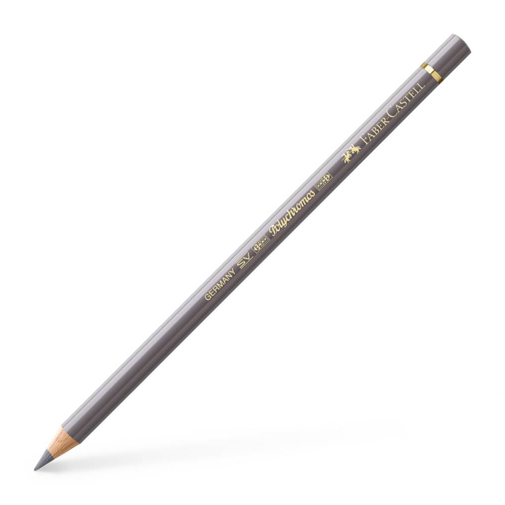 FABER CASTELL POLYCHROMOS PENCIL 273 WARM GREY IV