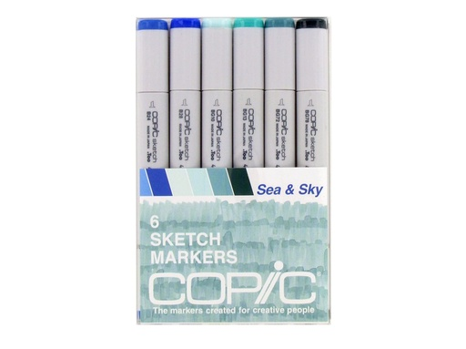 Copic COPIC SKETCH SET/6  SEA AND SKY